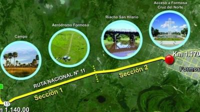 """Formosa: """"En breve comienza la construcción de la autovía Tatané-Cruz del Norte"""""""