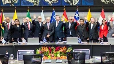 Fuerte apoyo de la Unasur a Venezuela