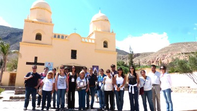 La Quebrada deslumbró a delegación de la OMT