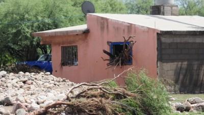 Calculan que entre Quines y Luján deberán reconstruir unas 100 casas