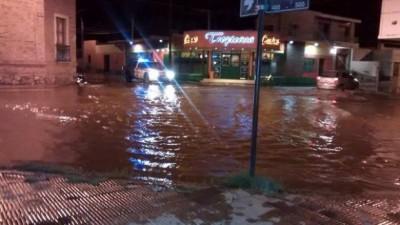 Concarán: todavía hay más de 1500 evacuados por el temporal