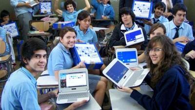 Las netbooks de Conectar Igualdad amplían el aula