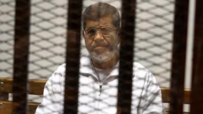 El ex presidente Egipcio Mursi, condenado a 20 años de prisión