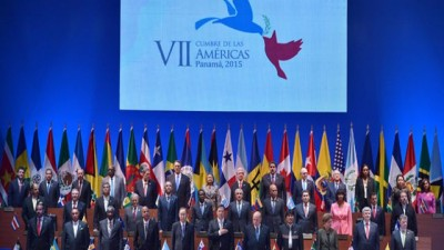 """Ban Ki-moon: """"Primera vez que los 35 países están participando en la Cumbre de Las Américas"""""""