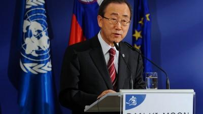"""Ban Ki Moon: """"No hay solución militar para los migrantes que se ahogan en el Mediterráneo"""""""