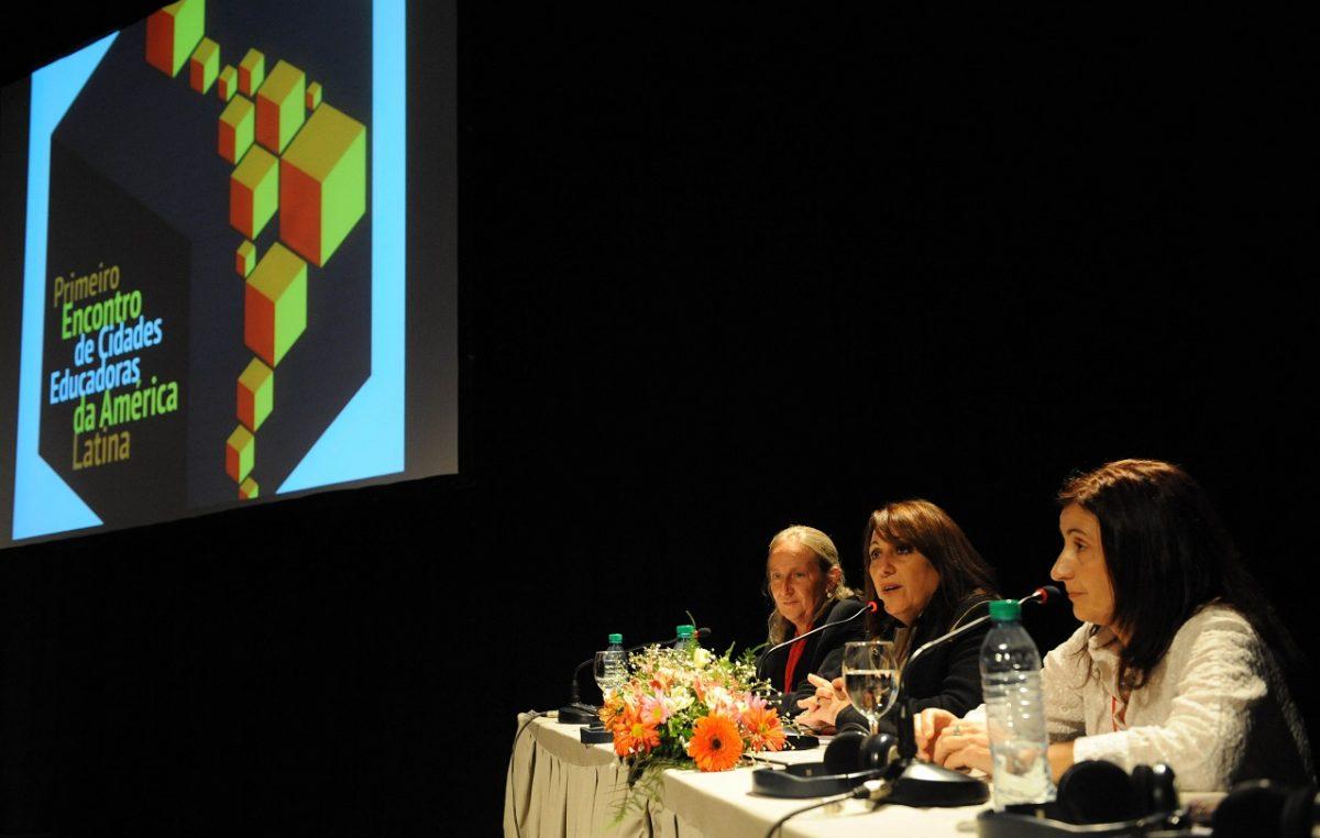 Se presentó en Rosario el XIV Congreso Internacional de Ciudades Educadoras