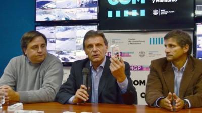 La comuna de Mar del Plata comenzó a distribuir botones antipánico a comerciantes