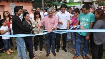 En Merlo inauguraron once Nuevas Empresas de Jóvenes Sanluiseños