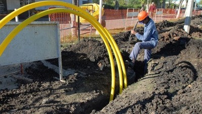 Leones a punto de completar la red de gas para que llegue a la totalidad de la población