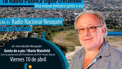 Inauguraron sede de Radio Nacional en Neuquén