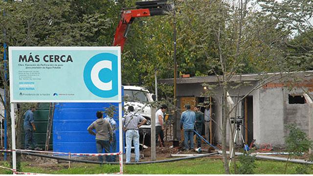 El plan Mas Cerca comprende obras dinámicas en municipios que prioriza la mano de obra local