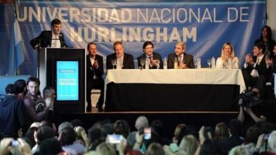 Inauguraron la nueva Universidad Nacional de Hurlingham