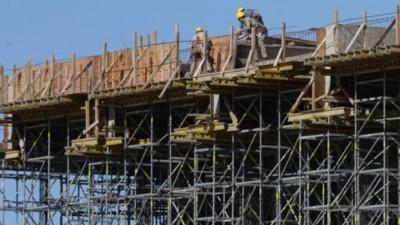 La construcción creció 5,3 por ciento en el primer trimestre del año