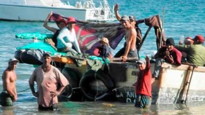Aumentó un 100 % el éxodo de balseros cubanos a pesar del deshielo con EEUU