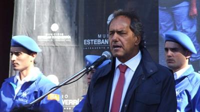 Acto de egreso de la Policía Comunal en Echeverría