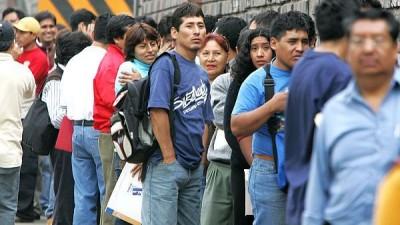 El desempleo en Latinoamérica será de 6,2 por ciento en 2015