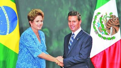 México y Brasil acordaron duplicar el comercio en los próximos 10 años