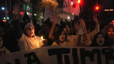 Chile: más de 170 detenidos y una decena de heridos en marcha estudiantil