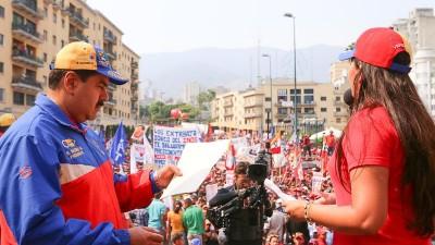 Maduro decretó el 30% de aumento salarial en Venezuela