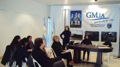 """Reunión por """"Municipios Saludables"""" enIntendente Alvear"""