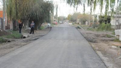 Presupuesto Participativo: suman cuadras de asfalto en Los Hornos