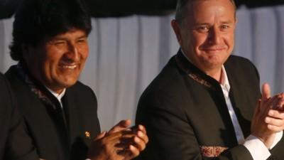 El presidente boliviano subió un 15% el salario mínimo en el Día del Trabajo