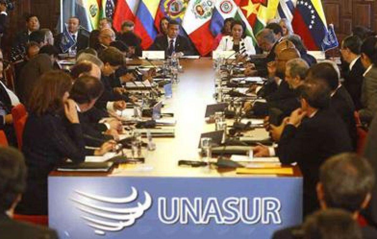 La Unasur volvió a pronunciarse a favor de la realización de las parlamentarias en Venezuela