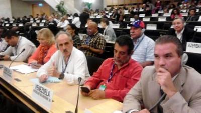 Sindicalistas se unen en defensa de Venezuela contra denuncias de empresarios en la OIT
