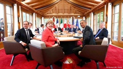 Grecia y Ucrania marcan la primera jornada del G7