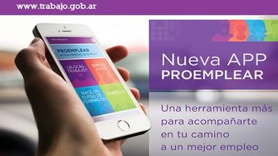 Trabajo lanzó una aplicación para celulares para buscar empleo