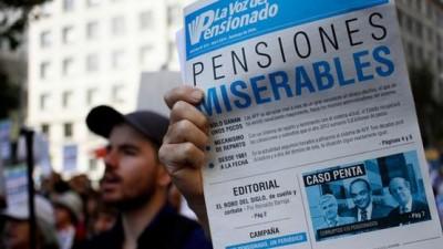 Polémica propuesta para aumentar pensiones en Chile