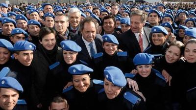 """Scioli señaló que la Policía Comunal """"es un proyecto para el país"""""""