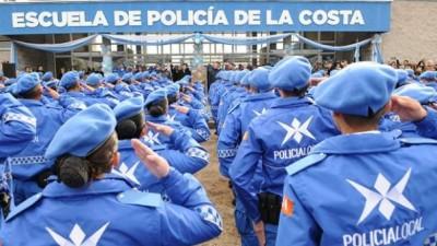 La Policía Local fue puesta en marcha en el Partido de La Costa