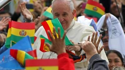 Francisco recibe el cariño de su Latinoamérica