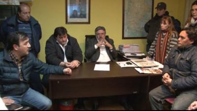 Primer encuentro entre las nuevas autoridades municipales de Río Gallegos y el SOEM