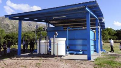 San Luis: 29 obras de provisión de agua potable para zonas rurales de 3 departamentos
