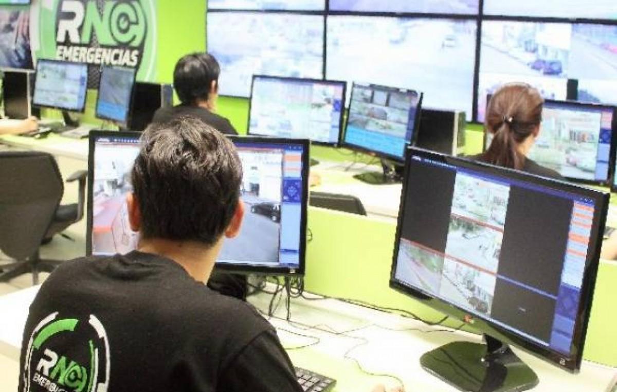 Inauguraron el Centro de Monitoreo Integral 911 de Bariloche