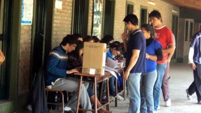 Mañana se estrenará el voto joven en elecciones presidenciales