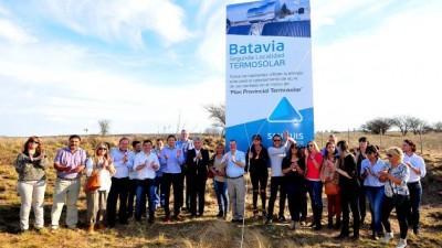 Batavia es la segunda localidad termosolar de la Argentina