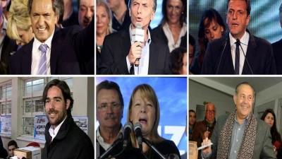 Seis son los candidatos que competirán en las elecciones presidenciales de octubre