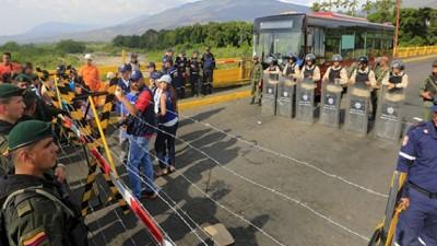 El cierre de la frontera venezolana con Colombia se extiende a otros cuatro municipios del Táchira