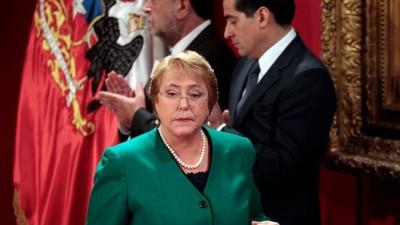 Bachelet alcanzó un inédito nivel de desaprobación del 70%