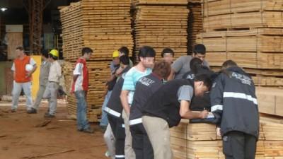 """La AFIP descubrió a 71 trabajadores """"en negro"""" en una empresa forestal"""