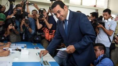 Un cómico ganó las presidenciales en Guatemala