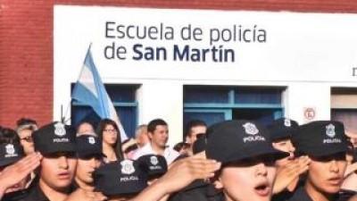 Policía Local: Egresarán 235 nuevos efectivos en San Martín