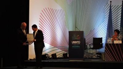 El Ministro de Turismo de la Nación  fue distinguido por la Organización Mundial del Turismo