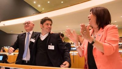 La Asamblea de la ONU aprobó los principios para limitar las acciones de los buitres
