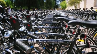 TuBi: 3500 universitarios de San Luis recibirán sus bicis