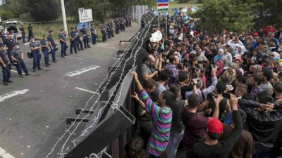 Europa colapsó con 600.000 refugiados