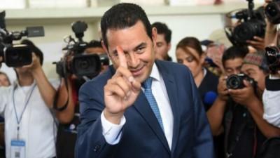 Morales presidente de Guatemala